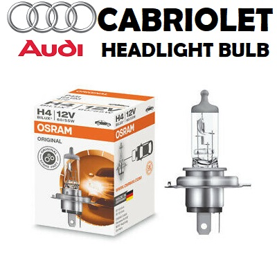 Headlight bulbs for Audi Cabriolet