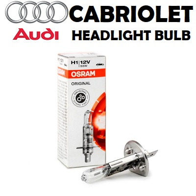 Audi Cabiolet headlights bulbs