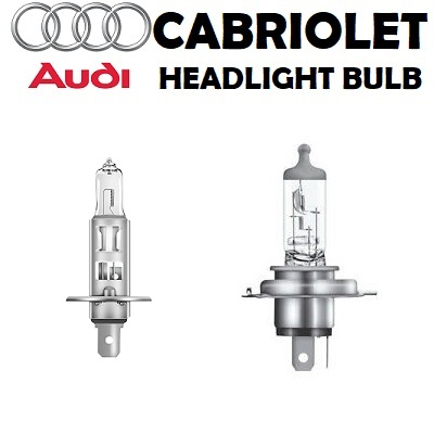 Audi Cabriolet headlight bulbs