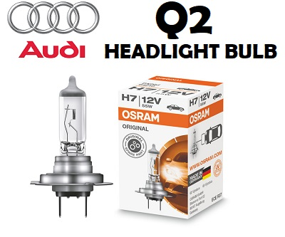 Audi Q2 headlights bulbs