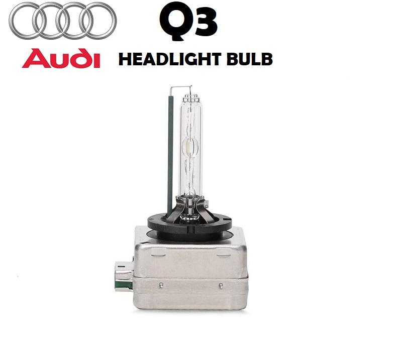 Audi Q3 headlight bulbs