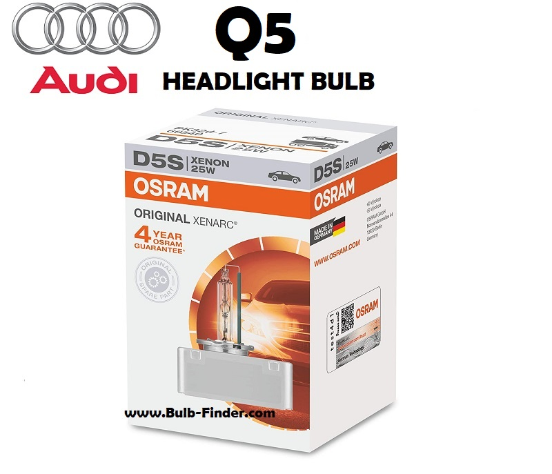 Audi Q5 headlight bulbs