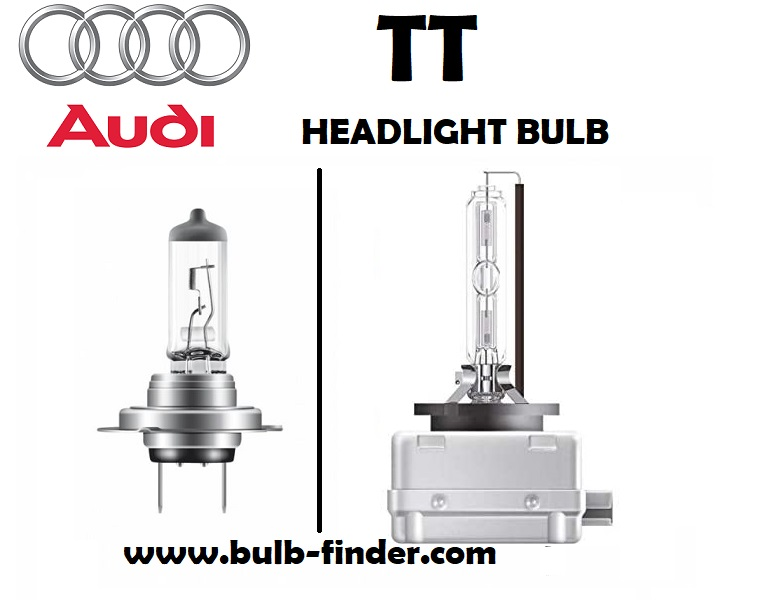 Audi TT headlights lamp type