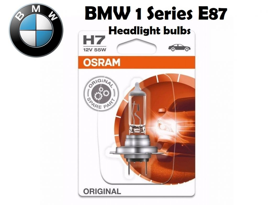 BMW 1 Series headlamp bulbs