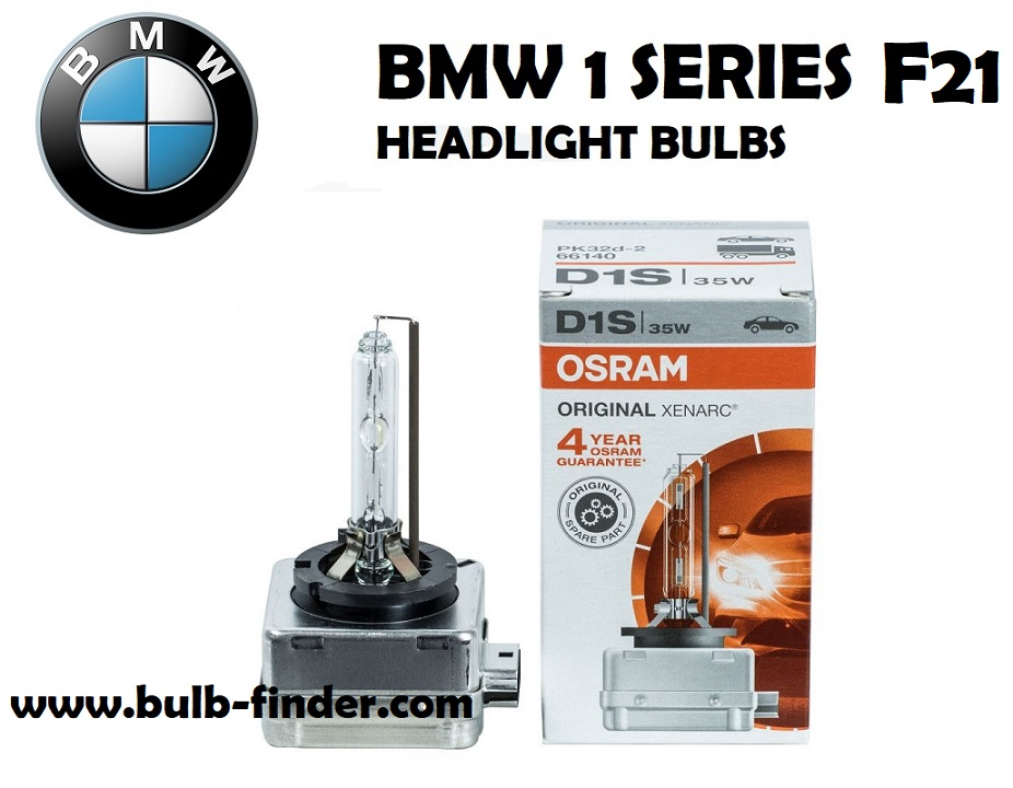 BMW 1 Series F21 headlights bulbs type