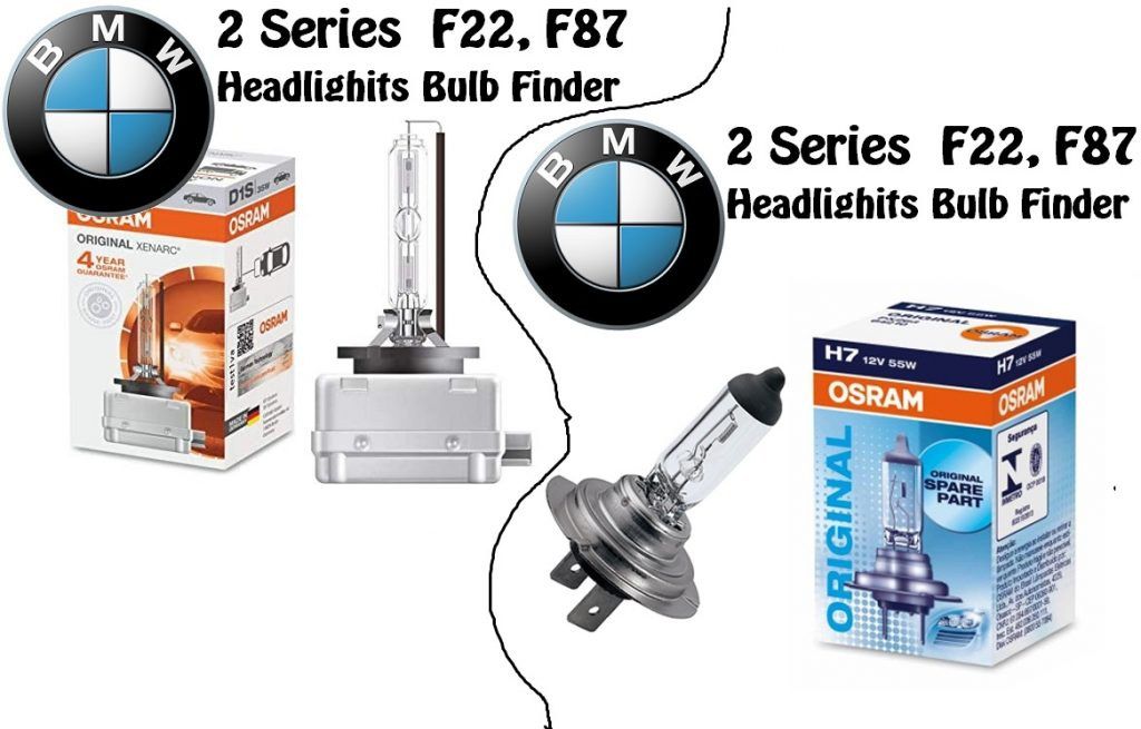BMW 2 Series F22, F87 xenon bulb replacement