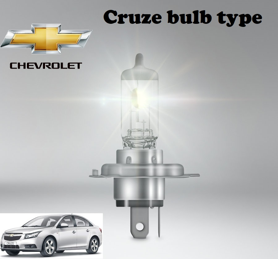 Chevrolet Cruze bulbs model
