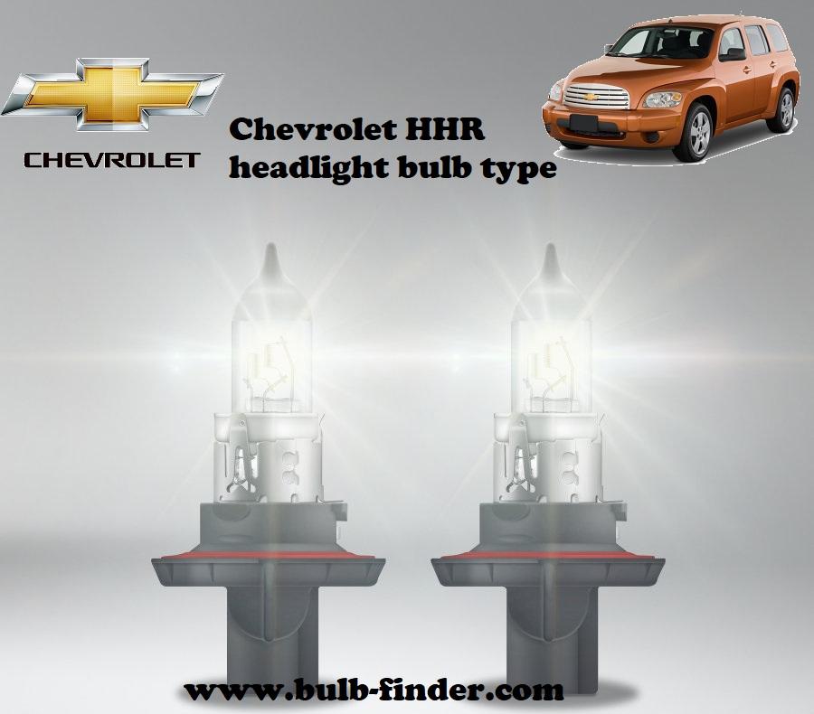 Chevrolet Evanda headlamp bulb specification