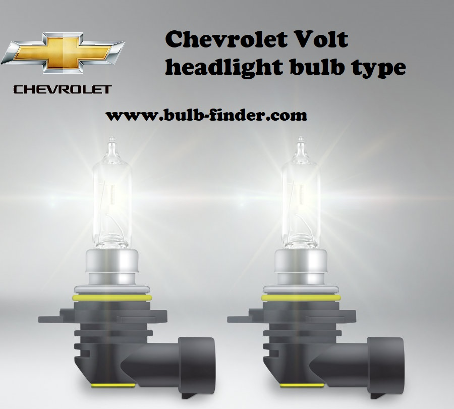 Chevrolet Volt headlamp bulb specification