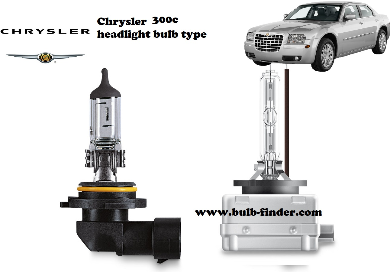 Chrysler 300c headlamp bulb specification