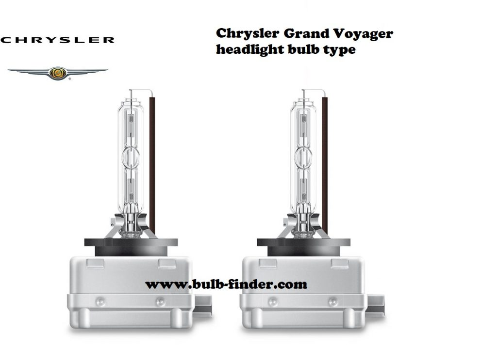 Chrysler Grand Voyager headlamp bulb specification