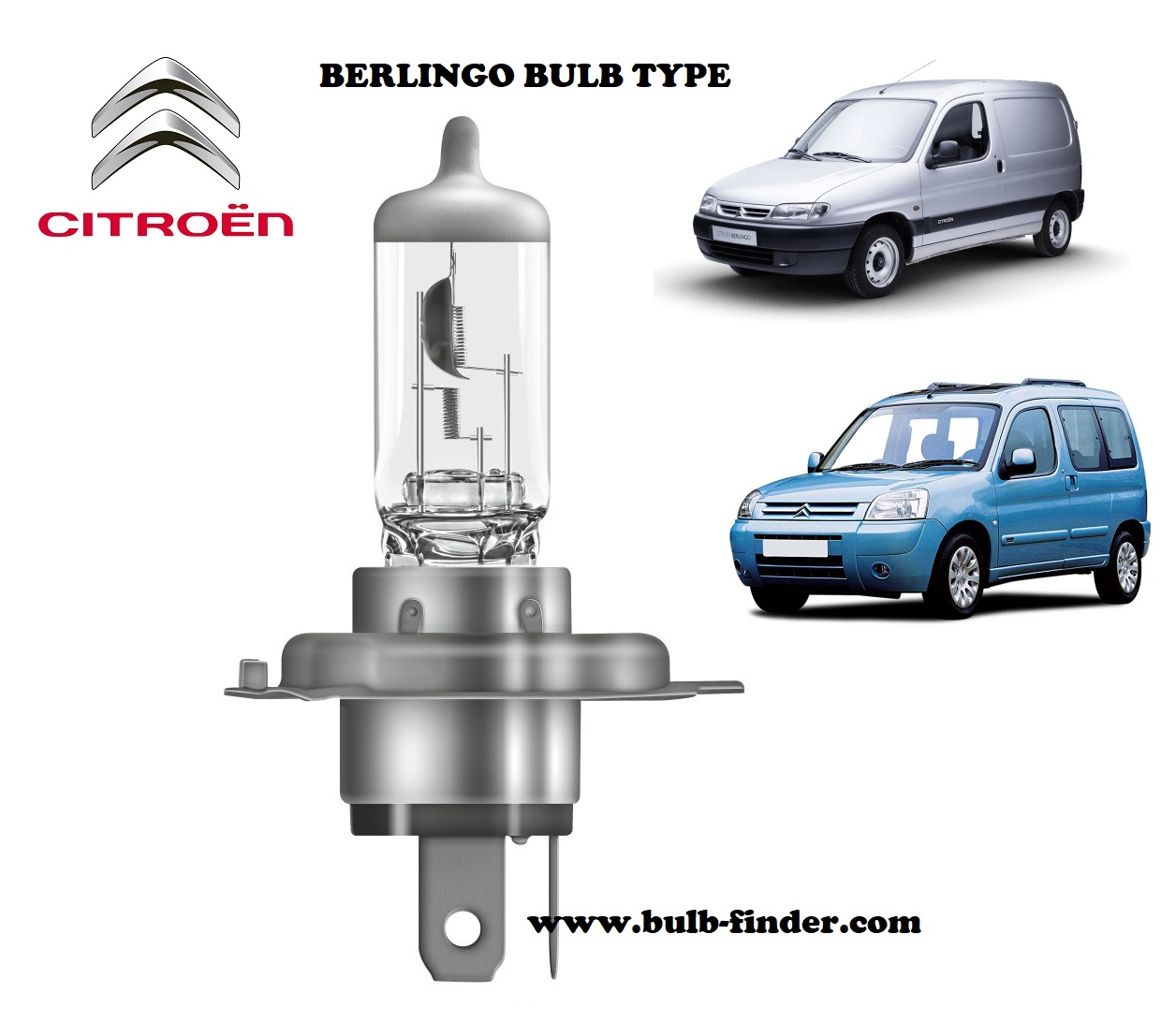 Citroen Berlingo headlamp bulb specification