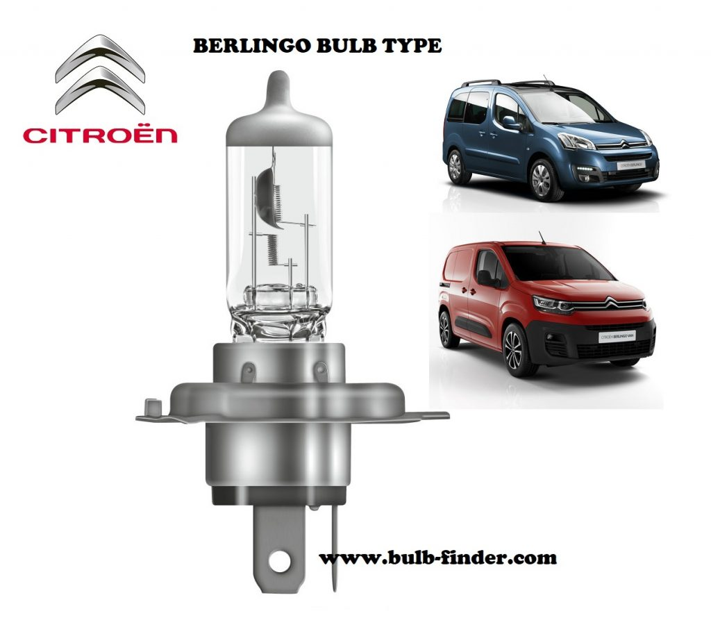 Citroen Berlingo headlamp bulb specification