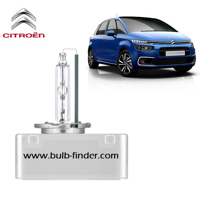 Citroen C4 mk2 Grand Picasso headlamp bulb specification