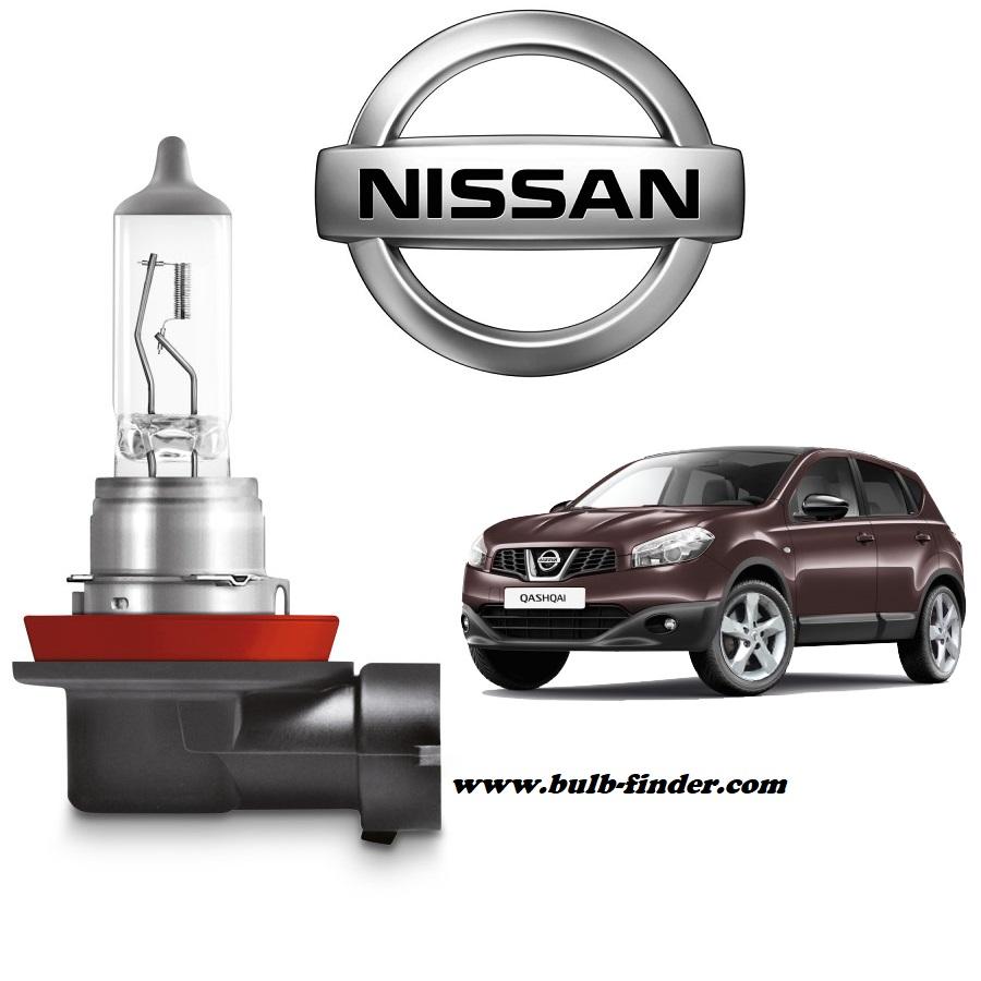 Nissan Qashqai bulb type FOG LAMP
