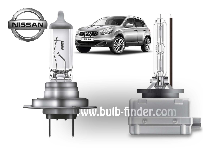 Nissan Qashqai bulb type LOW BEAM HEADLIGHT