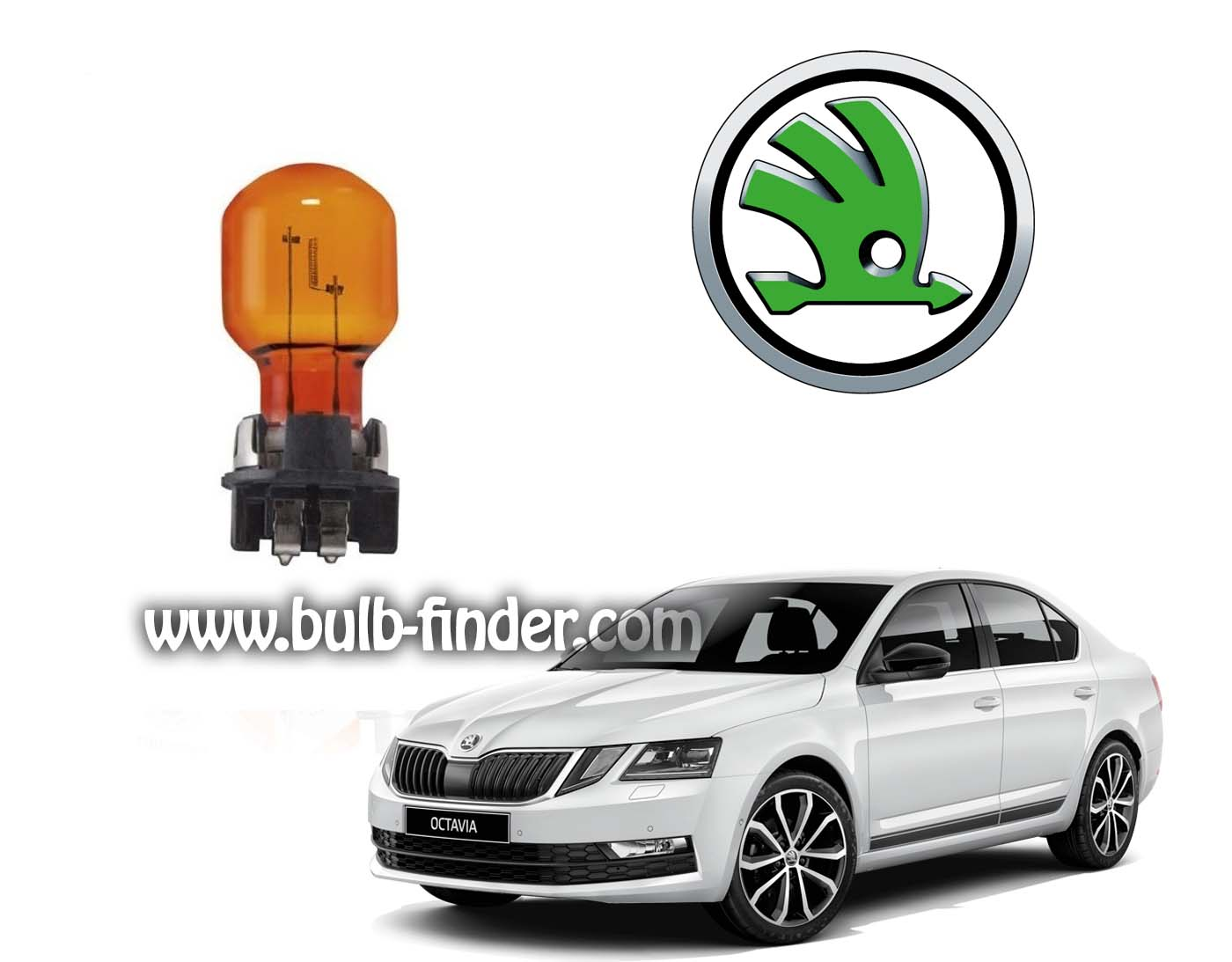 Skoda Octavia bulb model DIRECTION TURN SIGNAL