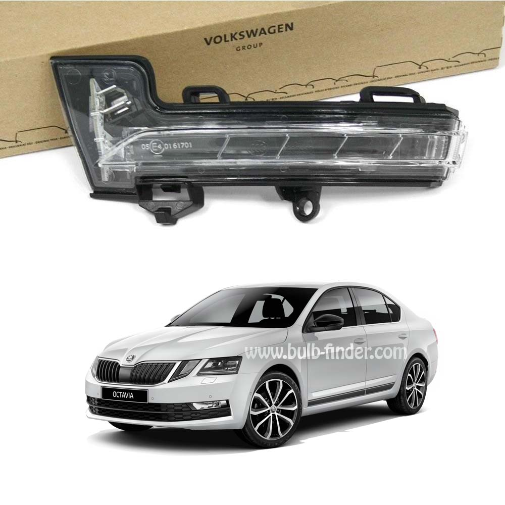 Skoda Octavia bulb model for MIRRORS DIRECTION SIGNAL