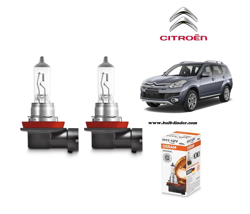 Citroen C-Crosser bulb model LOW BEAM specification