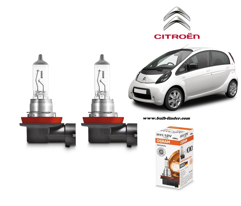Citroen C-Zero bulb type LOW BEAM HEADLIGHT
