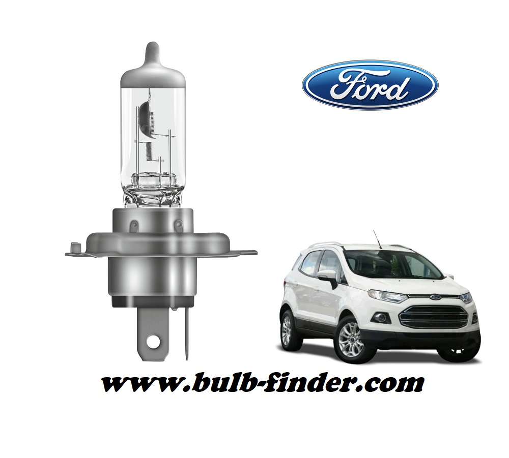 Ford Ecosport bulb model LOW BEAM specification