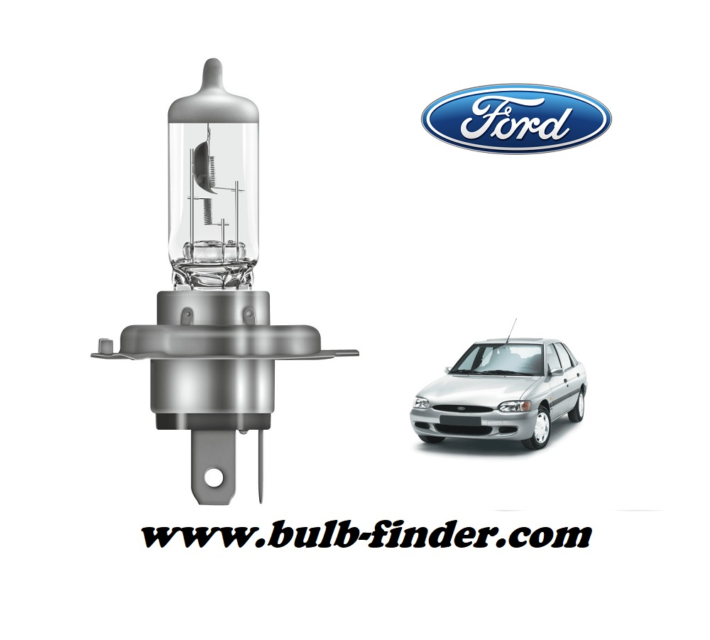 Ford Escort 6 bulb model LOW BEAM specification