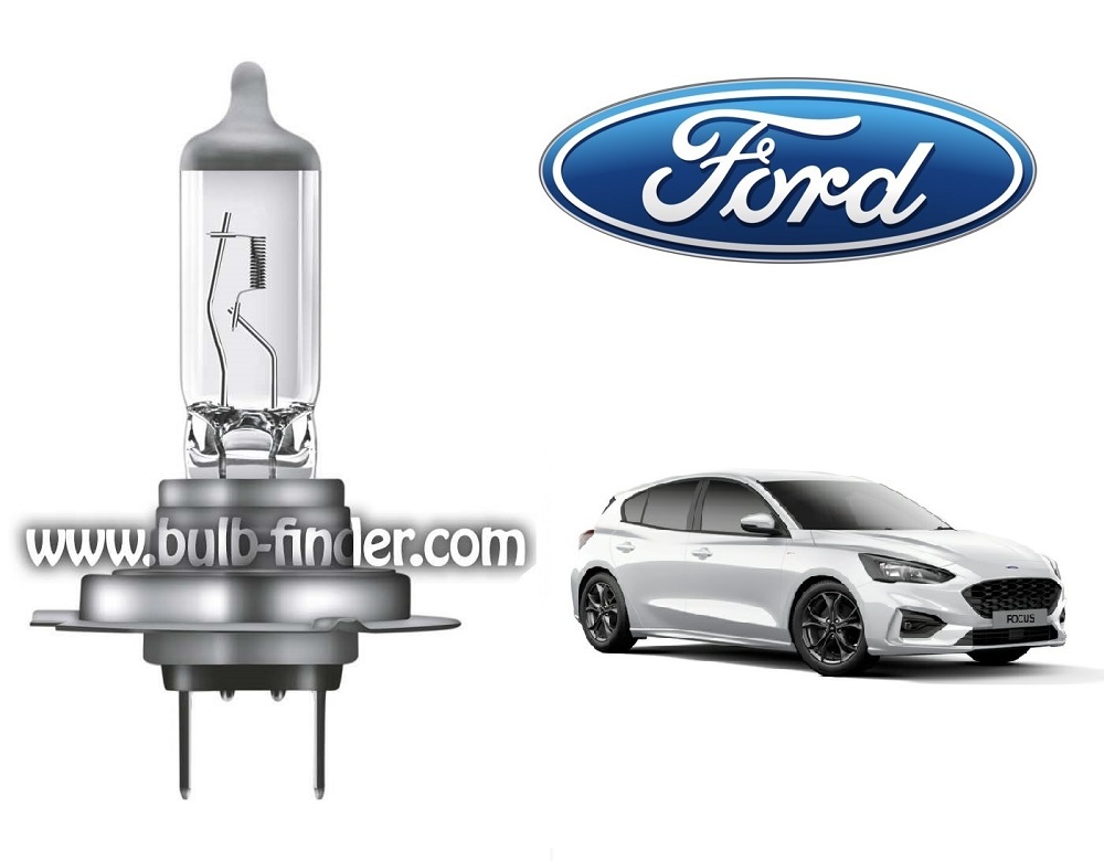Ford Focus 4 bulb model LOW BEAM specification