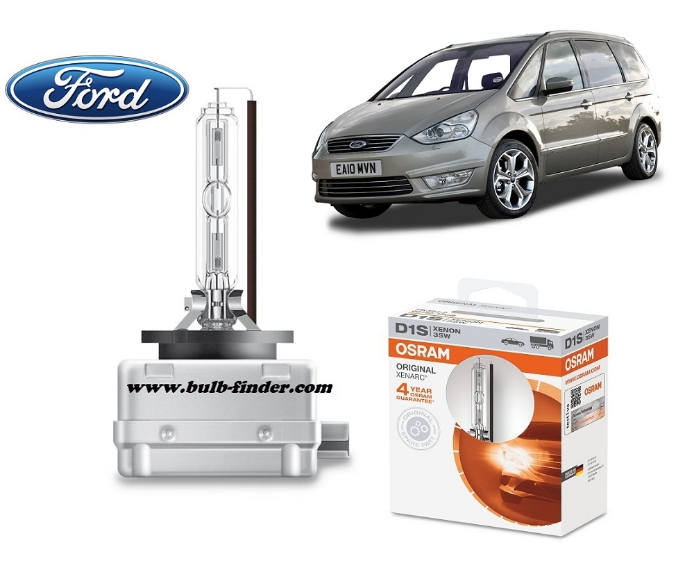 Ford Galaxy II bulb model LOW BEAM specification