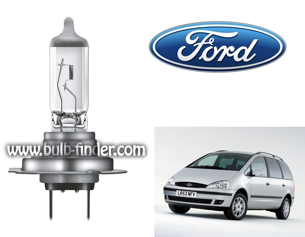 Ford Galaxy bulb model LOW BEAM specification