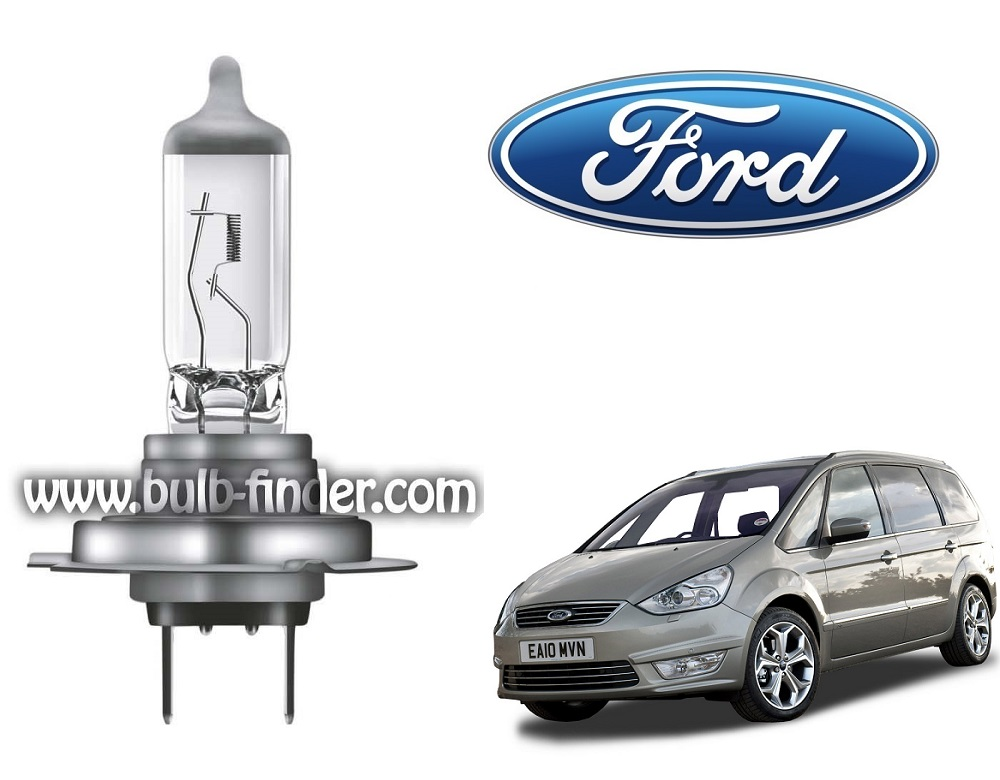 Ford Galaxy 2 bulb model LOW BEAM specification
