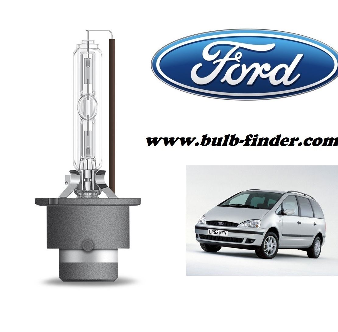 Ford Galaxy I bulb model LOW BEAM specification
