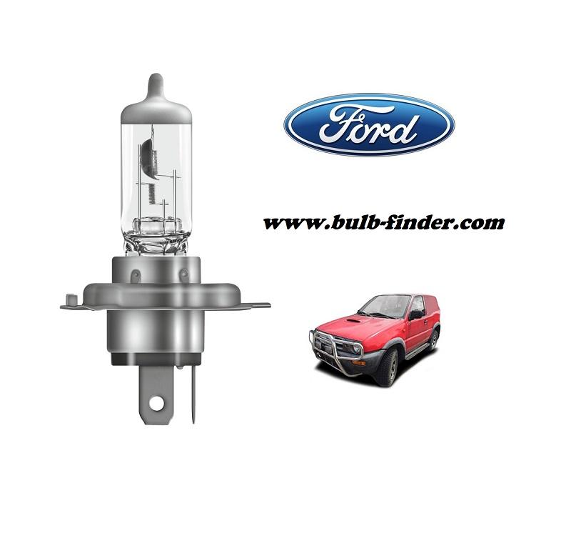 Ford Maverick bulb model LOW BEAM specification