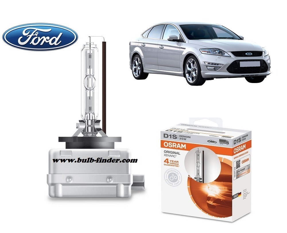 Ford Mondeo mk4 bulb model LOW BEAM specification