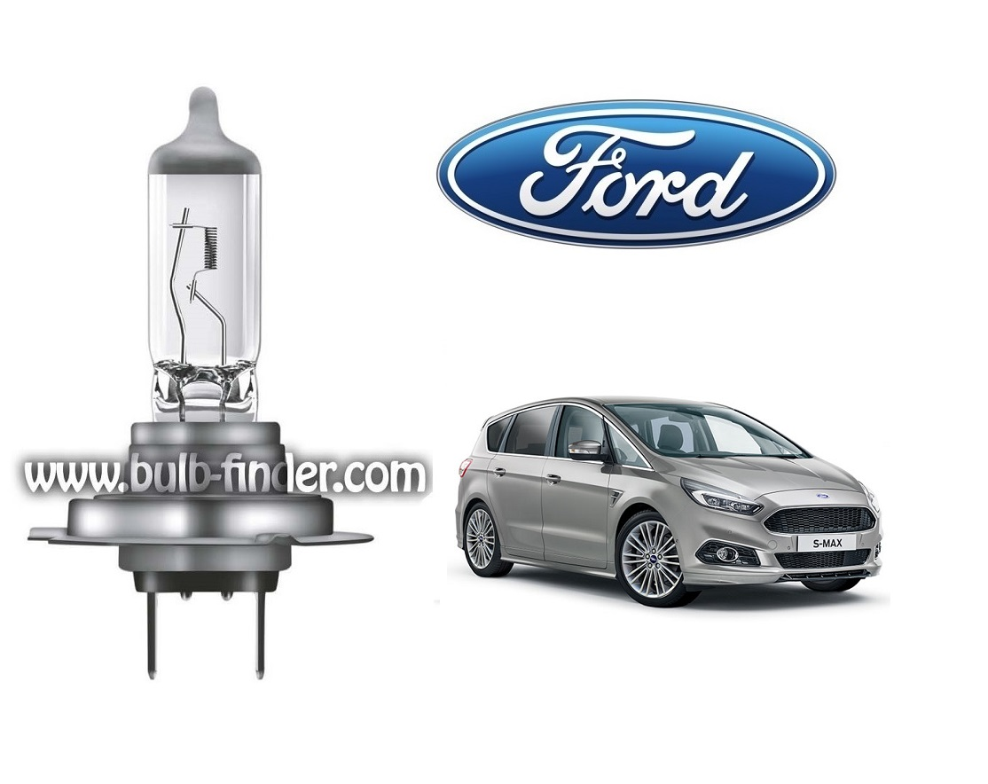 Ford S-MAX Mk2 bulb model LOW BEAM specification