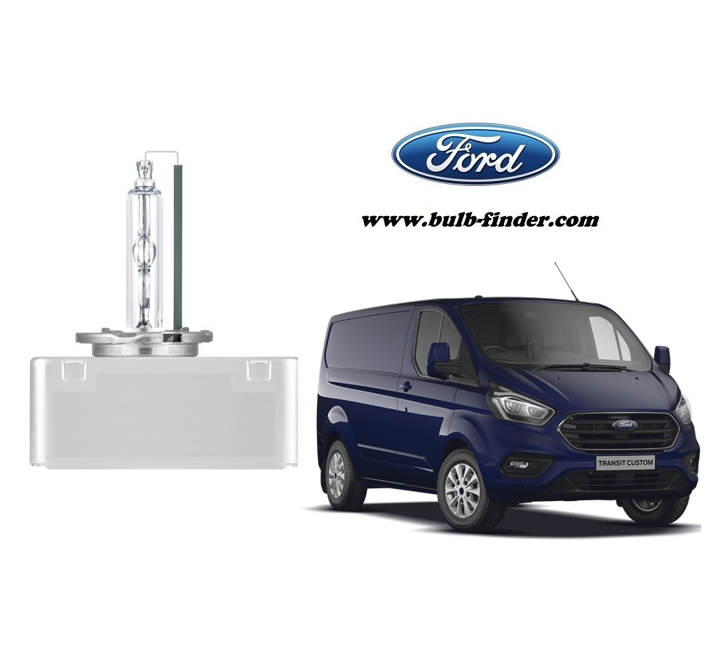 Ford Transit Custom bulb model LOW BEAM specification