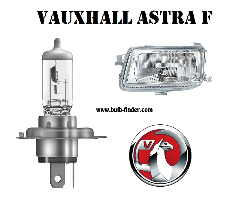 Vauxhall Astra Mk3 bulbs specification for halogen headlamp