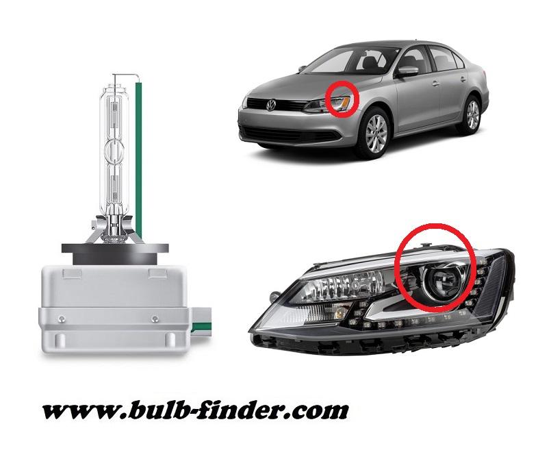 VW Jetta Mk4 model bulb for LOW BEAM HEADLIGHT specification