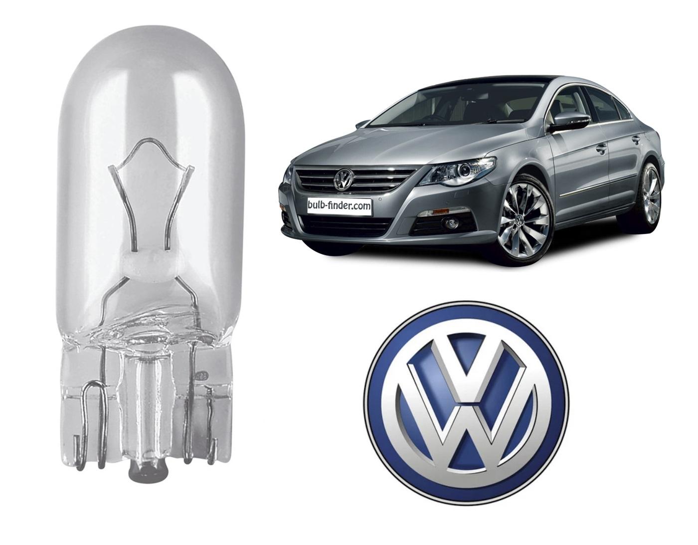VW Passat 2008-2012 bulb type PARKING LIGHT spec