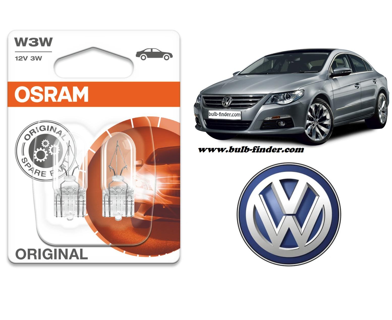 VW Passat CC bulb type GLOVEBOX COMPARTMENT LIGHT spec