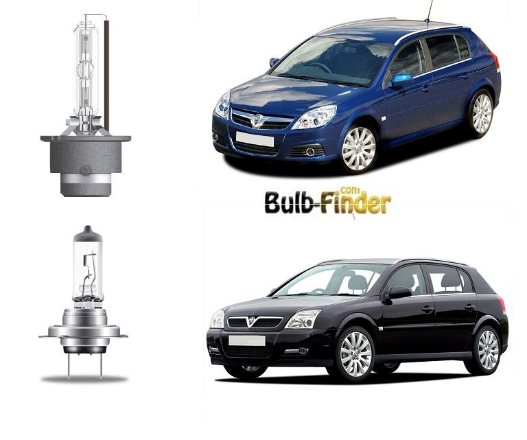 Vauxhall Signum bulb type