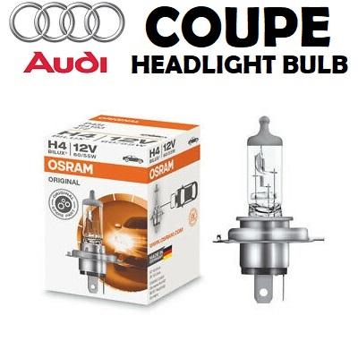 Audi Coupe headlights bulbs