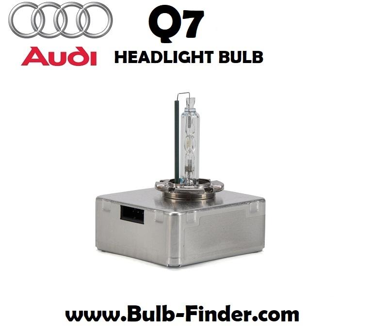 Audi Q7 headlight bulb