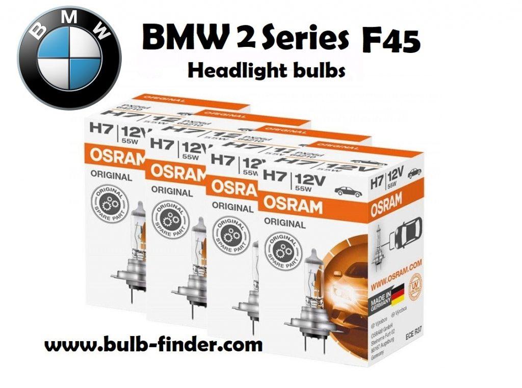 Bulb headlight BMW 2 Seriesc