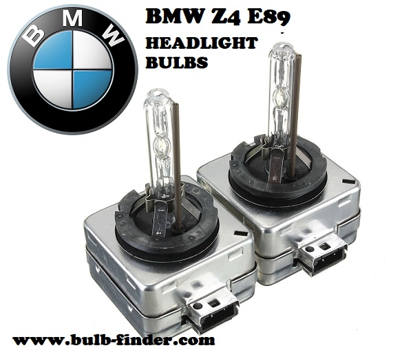 BMW Z4 E89 front headlamps bulbs type