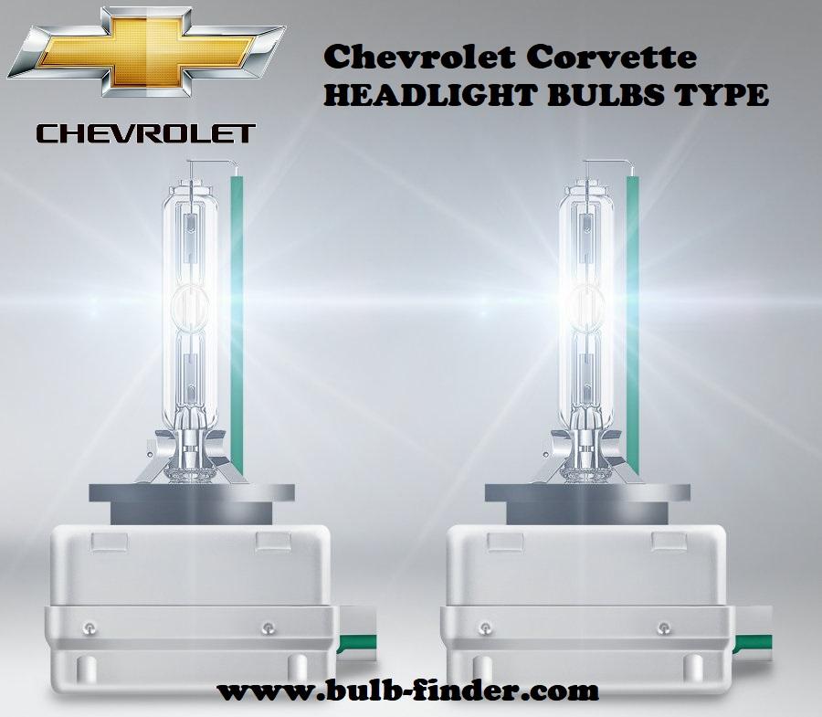Chevrolet Corvette headlamps bulb type
