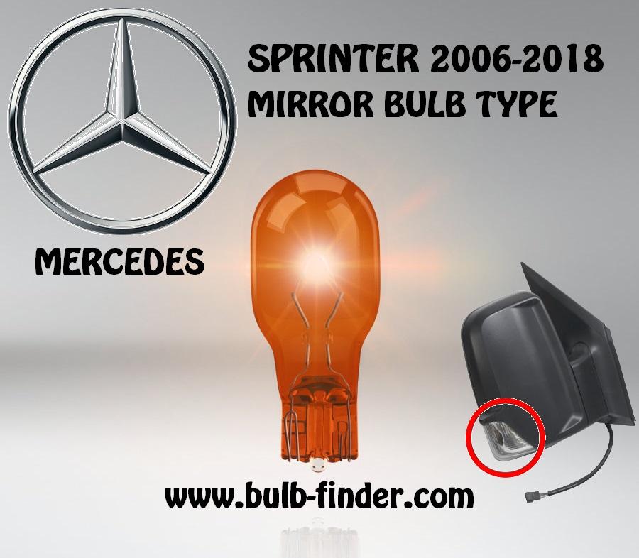 Mercedes Sprinter mirror type signal