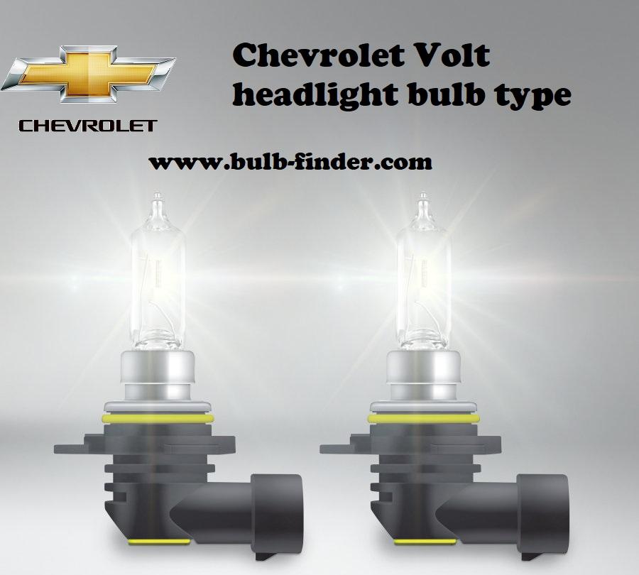 Chevrolet Volt headlamp bulb specification