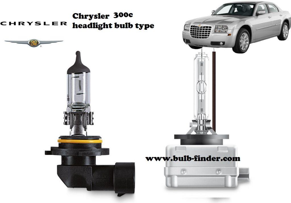Chrysler 300c headlamp bulb specification
