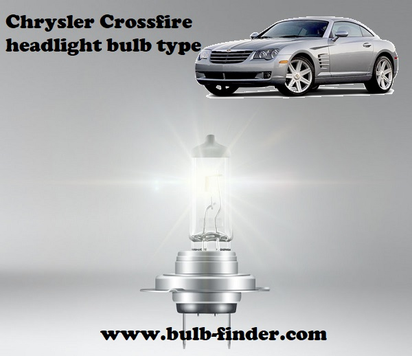 Chrysler Crossfire headlamp bulb specification