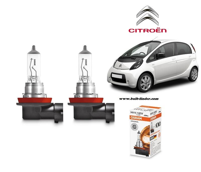 Citroen C-Zero bulb type LOW BEAM HEADLIGHT